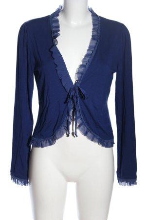 Oasis Cardigan blau Casual-Look