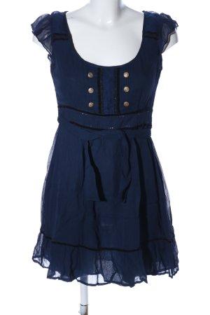 Oasis Chiffonkleid blau Elegant