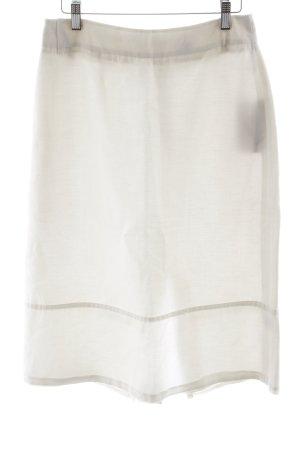 Oasis Rok met hoge taille wit casual uitstraling