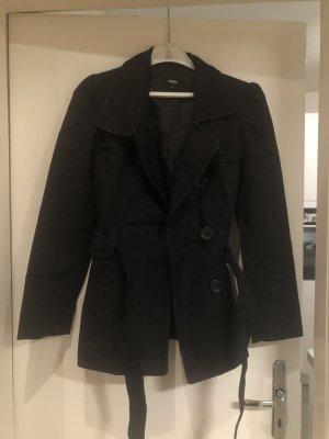 Oasis Jacke schwarz Gr XS Trenchcoat Übergang