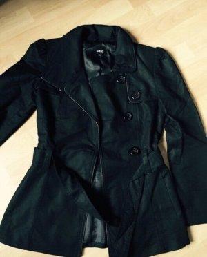 Oasis Jacke schwarz Gr XS Trenchcoat wie Zara