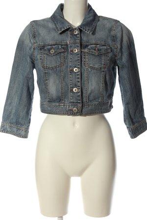 Oasis Jeansowa kurtka niebieski W stylu casual