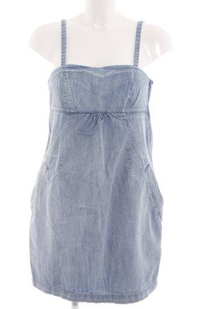 Oasis Jeanskleid blau meliert Casual-Look