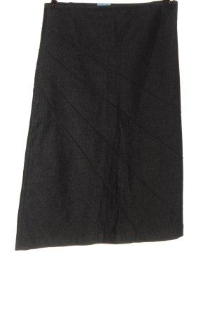 Oasis Jupe en jeans gris clair moucheté style décontracté