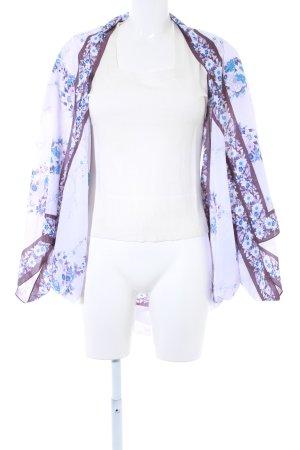 Oasis Kimono blasslila Blumenmuster