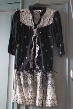 Oasis Kleid schwarz-weiß Gr.34