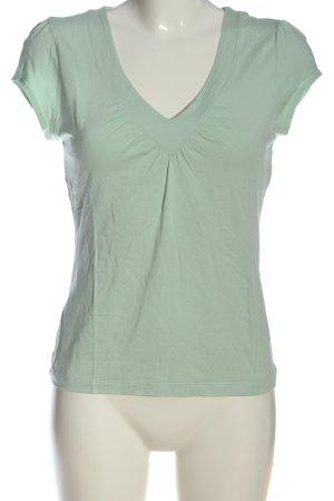 Oasis Blouse à manches courtes vert style décontracté