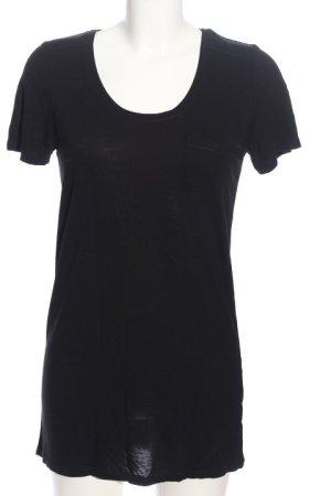 Oasis T-Shirt schwarz Casual-Look