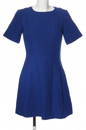 Oasis Kurzarmkleid blau Business-Look