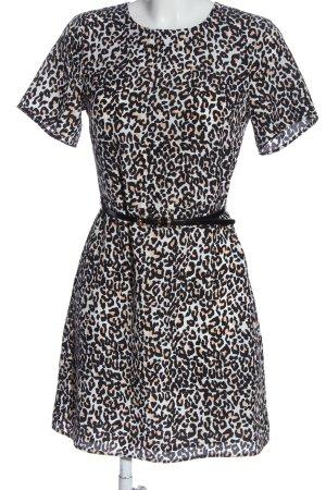 Oasis Robe à manches courtes imprimé allover style décontracté