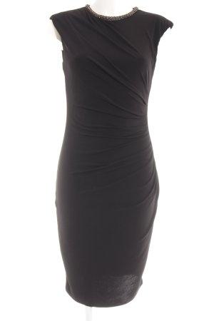 Oasis Kurzarmkleid schwarz Elegant