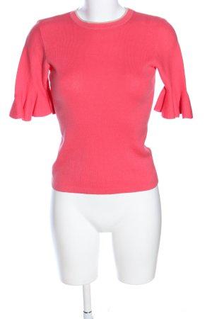 Oasis Kurzarmpullover pink Casual-Look