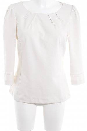 Oasis Langarm-Bluse creme klassischer Stil