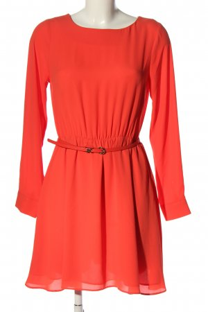 Oasis Langarmkleid rot Casual-Look