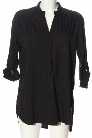 Oasis Long-Bluse schwarz Casual-Look