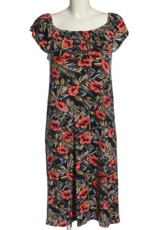 Oasis Midi Dress allover print casual look