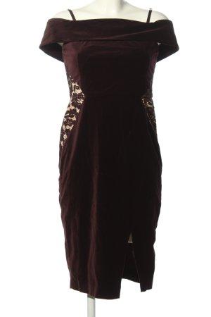 Oasis Midikleid braun-creme Elegant