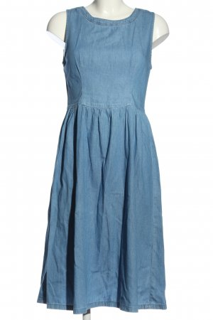 Oasis Midikleid blau Casual-Look