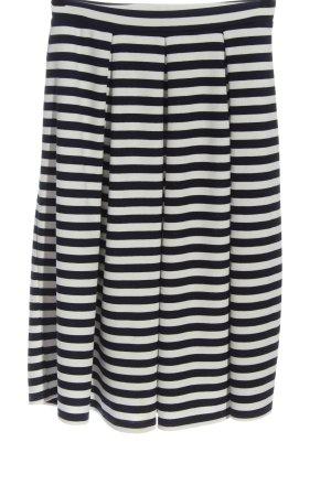 Oasis Jupe mi-longue noir-blanc imprimé allover style décontracté