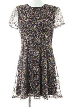 Oasis Minikleid Blumenmuster schlichter Stil