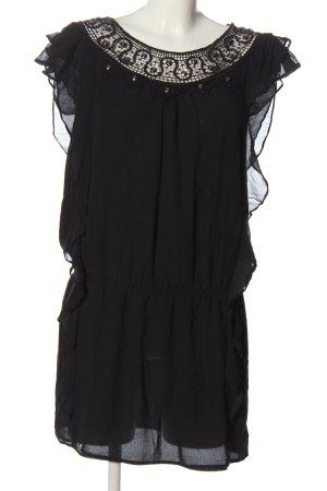 Oasis Robe courte noir style décontracté