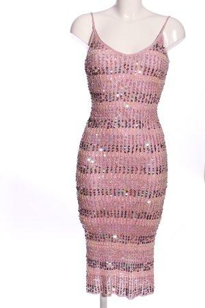 Oasis Sequin Dress pink elegant
