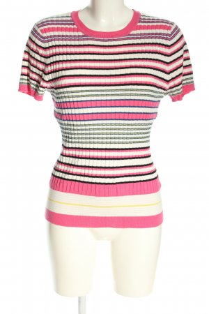 Oasis Ribbed Shirt striped pattern casual look