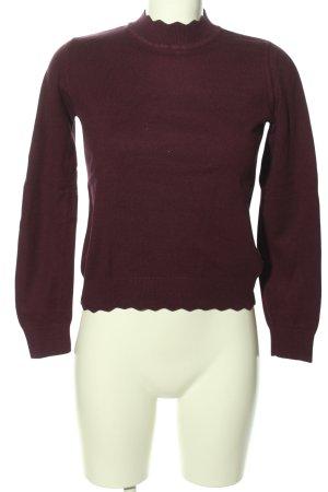 Oasis Jersey de cuello redondo marrón look casual