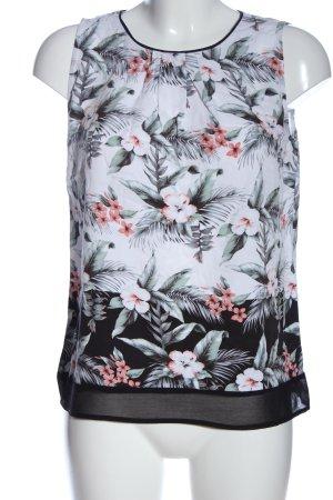 Oasis Schlupf-Bluse Blumenmuster Casual-Look