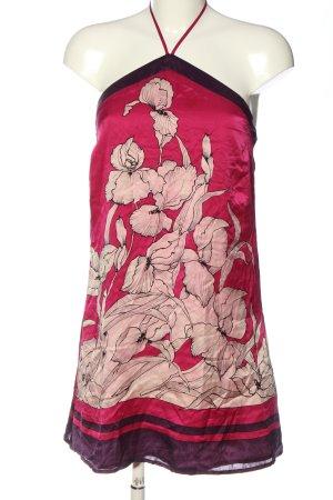 Oasis Robe dos-nu motif de fleur style décontracté