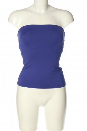 Oasis schulterfreies Top blau Casual-Look