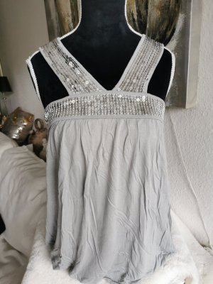 Oasis T-shirt argento-grigio