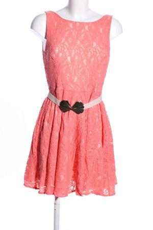 Oasis Spitzenkleid pink Elegant