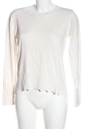 Oasis Jersey de punto blanco puro look casual