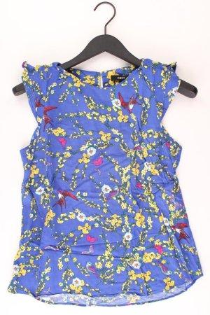 Oasis Top blau Blumenmuster Größe 38