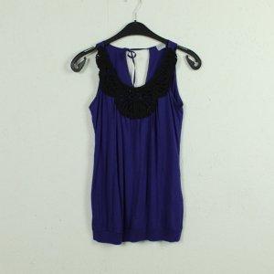 Oasis Hauts épaule nues noir-violet viscose