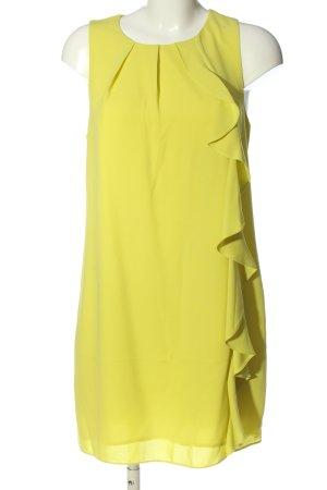Oasis Blusa de túnica amarillo pálido elegante