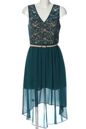 Oasis Vestido mullet azul elegante