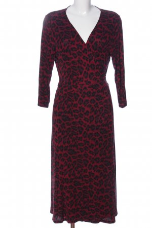 Oasis Wraparound red-black allover print casual look