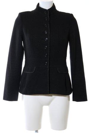 Oasis Veste en laine noir style d'affaires