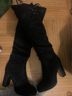 CCC Overknees black