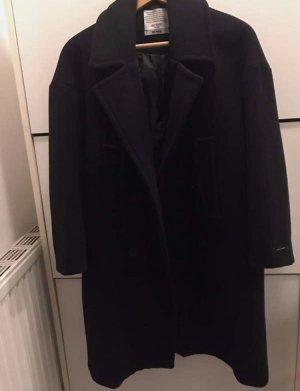 Korean Fashion Cappotto taglie forti nero