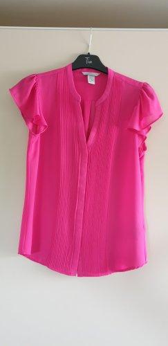 H&M T-shirt col en V rose