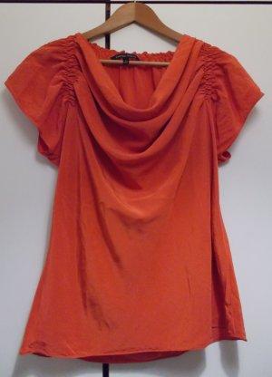 Waterval shirt rood Zijde