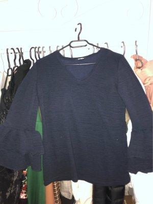 Shirt met korte mouwen donkerblauw