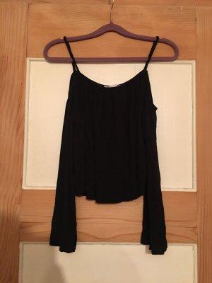 H&M Carmen Shirt black
