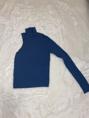 Zara Chemise côtelée bleu acier