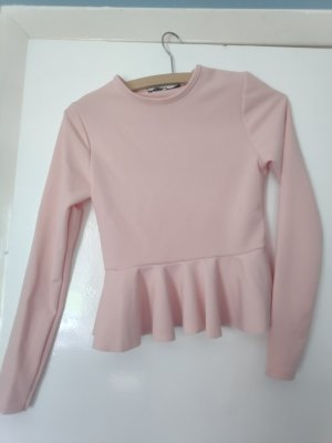 Bohoo Blouse à manches longues or rose