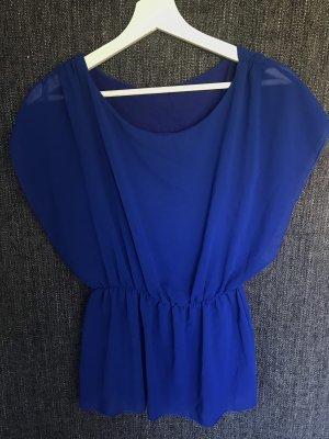 Empire Waist Shirt blue-dark blue