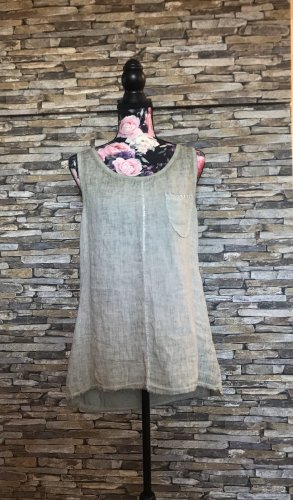 Italy Cut Out Top khaki